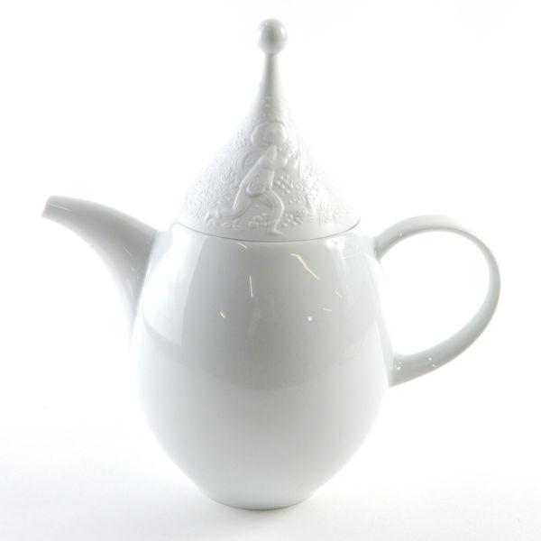ローゼンタール 魔笛ホワイト コーヒーポット
