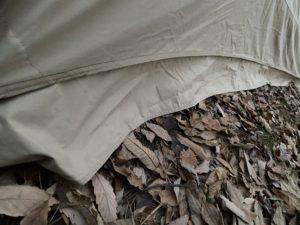 テントのスカート部分