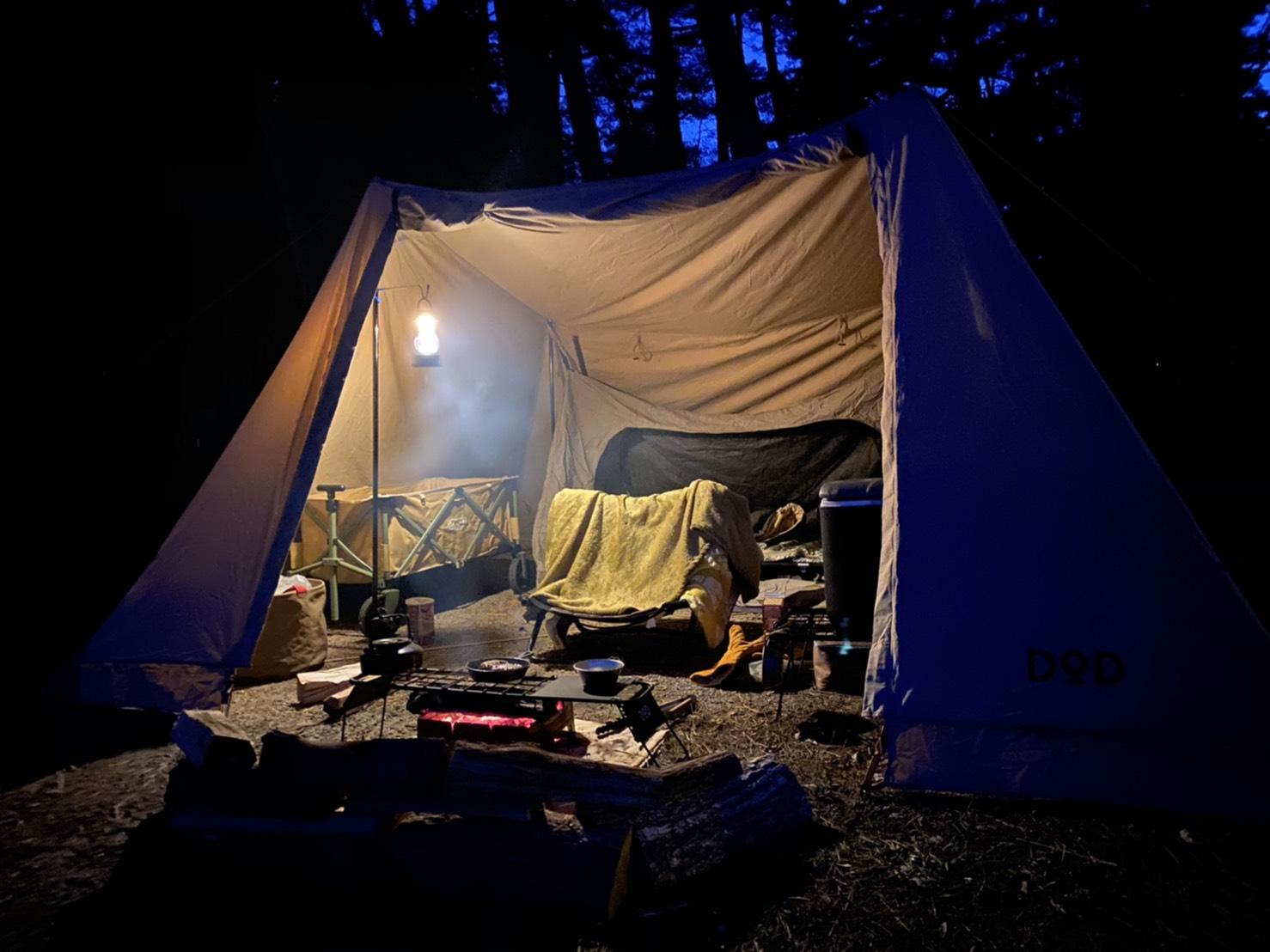 冬のソロキャンプで快適に過ごす方法とは