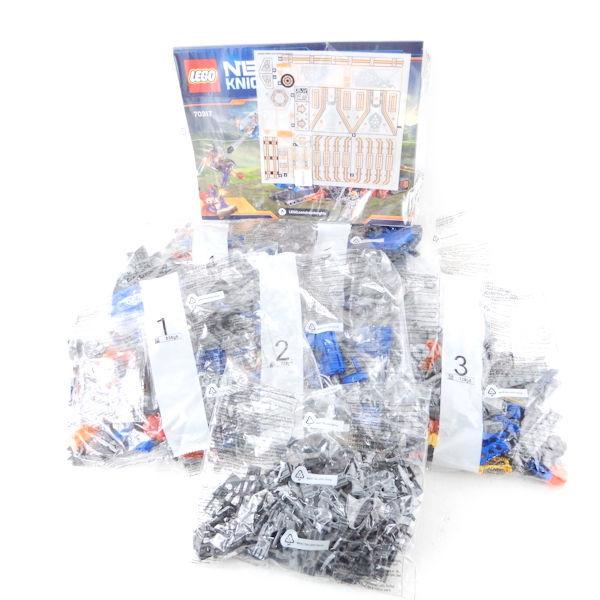 LEGO レゴブロック ナックスナイツ移動城塞フォートレックス 70317