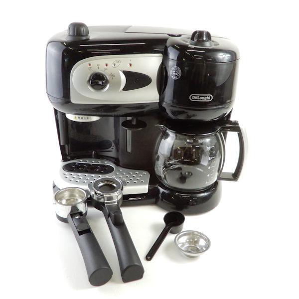 デロンギ BCO261N-B コンビコーヒーメーカー 1点 ブラック系 エスプレッソマシン ドリップ ラテ